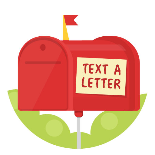 design your own text a letter